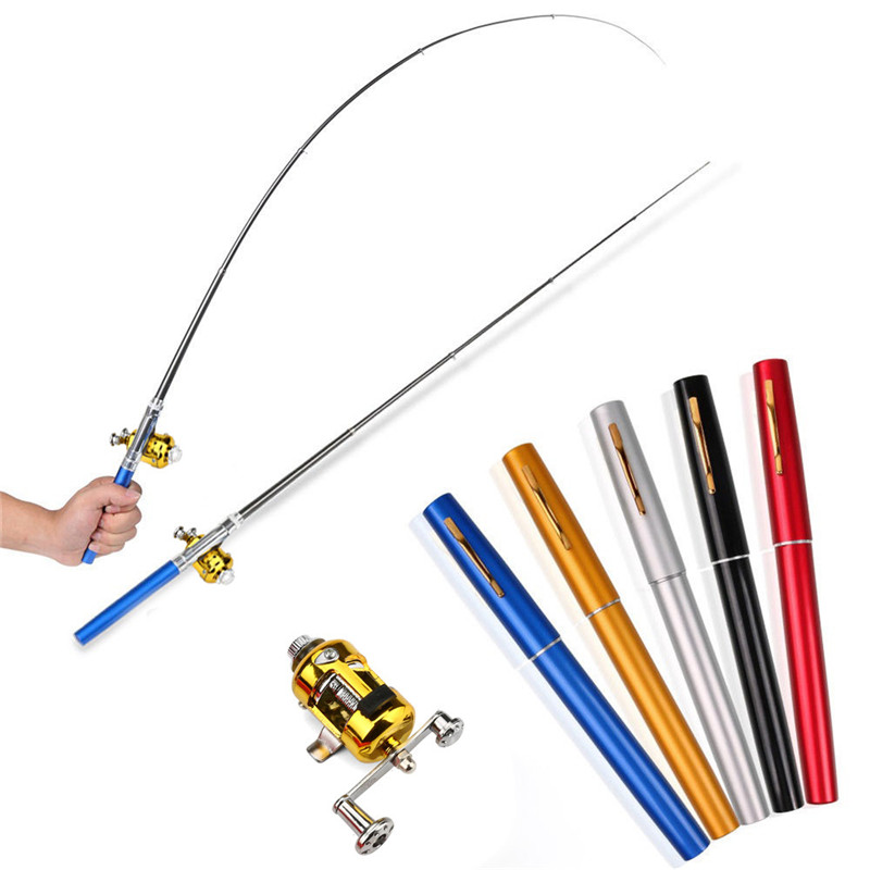 Mini Pen Fishing Rod Pocket Fishing Rod